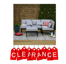 Jcpenney Outdoor Furniture by Jcpenney Clearance Outdoor Oasis Palm Beach 4pc Sectional Only