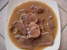 cuisine langue de boeuf langue de boeuf sauce madère gratienne f