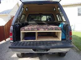 camping in pickup truck bed homemade camper shell designs google