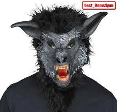 Werewolf Mask Werewolf Mask Halloween Prop Costume Accessory Face Scary Teen