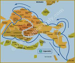 venice vaporetto map water venice vaporetto map of line 5 1 actv
