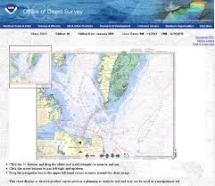 Intracoastal Waterway Map Charts Virginia Beach Charter Boats And Fishing Reports