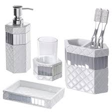 Modern Bathroom Accessories Sets Home Designs Bathroom Accessories Set 10 Bathroom Accessories