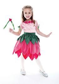 kids pretty petal fairy costume