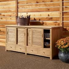 teak outdoor kitchen cabinets signature hardware