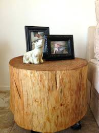 tree trunk coffee table stunning tree stump coffee table side diy australia image for trunk