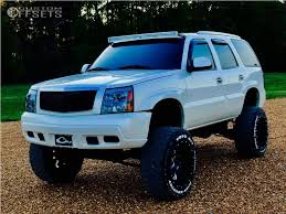 cadillac escalade lifted 2003 cadillac escalade fuel cleaver custom lifted 12in