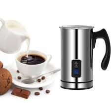 homgeek stainless steel automatic electric milk frother foamer