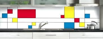 credence de cuisine en verre credence cuisine polycarbonate spectaculaire credence de cuisine
