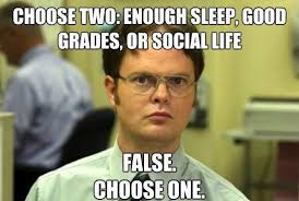 College Kid Meme - tips for time management for college students
