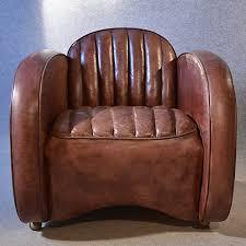 antiques atlas art deco leather armchair vintage club easy chair