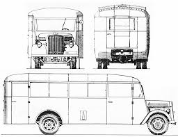 opel blitz opel blitz bus 1940 blueprint download free blueprint for 3d