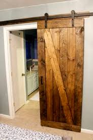 Erias Home Designs Straight Strap Sliding Barn Door by C Guide Barn Door Hardware Barn Doors And Hardware