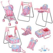 Baby Doll High Chair Set Baby Doll Furniture Playset Roselawnlutheran