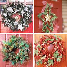 Decorated Christmas Wreaths Ideas by 37 Easy To Make Christmas Decorations Digsdigs
