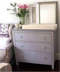 Ikea Hemnes Nightstand Blue Elsee Blog Ikea Hemnes With Grasscloth Baby Time Pinterest