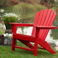 Recycled Plastic Outdoor Furniture Belham Living Belmore Recycled Plastic Classic Adirondack Chair