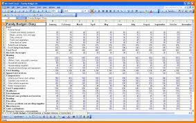 buget spreadsheet wolfskinmall