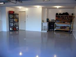 Light Blue Paint by Painting Concrete Floors In Garage With Light Blue Paint Concrete