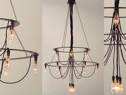 Diy Industrial Chandelier Cellula Lighting Roseswigfer 10 Easy Pieces Modern Chandeliers