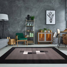 Cheap X Large Rugs Modern Black Grey Rugs Small Extra Large Big Huge Monochrome Soft