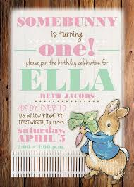rabbit invitation rabbit birthday invitations cloveranddot