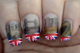 British Flag Nails 31 Day Challenge Nails The Final Frontier