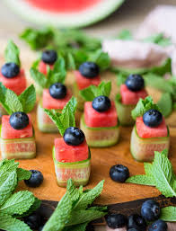 berry canapes phase 1 watermelon canapes beautiful refreshing and healthy 4
