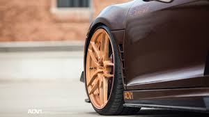 rose gold corvette dub magazine prior design audi r8 v10 on rose gold adv1 wheels