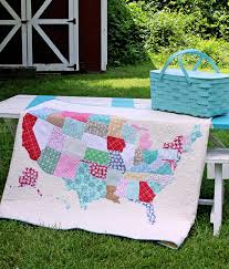map quilt map quilt tutorial discount designer fabric fabric com