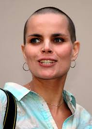 woman with extremely thinning hair haircut headshave and bald fetish blog for people who are bald