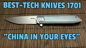 Best German Kitchen Knives Best Tech Knives 1701 China In Your Eyes S35vn