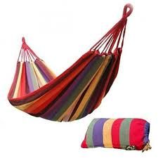 portable canvas hammock single u2013 hulaki