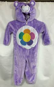 Halloween Costumes Care Bears Care Bears Costume Purple Harmony Plush Halloween Dress 3t 4t