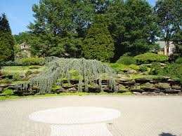 Curved Garden Wall by Garden Exciting Image Of Garden Design And Decoration Using