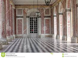 colonnaded the grand trianon in palace versailles france the g