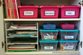organized craft supplies the sunny side up blog