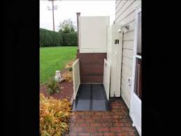 vertical platform lift from harmar mobility youtube