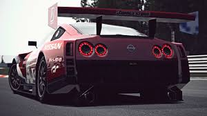 nissan 350z race car gt6 nissan gt r concept lm race car exhaust video youtube
