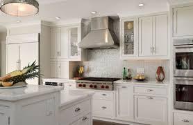 Kitchen Backsplash Photos White Cabinets Interior Wonderful White Granite Countertops For Modern Kitchen