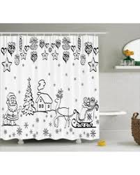 deal on decorations shower curtain tree