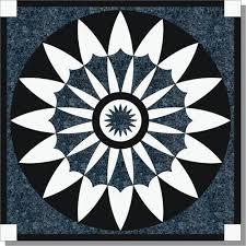 floor medallion 48 lewis series marble granite m014 48