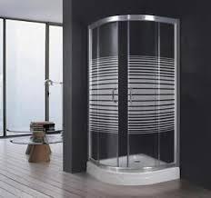 alles für badezimmer duschkabine halbrund 80x80 cm durchsichtig cabine alles für