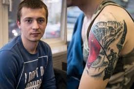 Patriotic Flag Tattoos Tattooed Russia A Declaration Of Love Captured On The Body