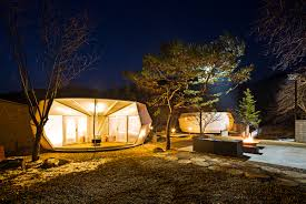 wall tent platform design prefabricated glamping tents by archiworkshop archpaper com