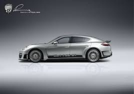 chrome porsche panamera lumma vehicle clr 700 gt