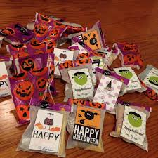 halloween treat bags teachers gift healthy eating u0026 recipes