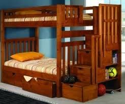 Stair Bunk Beds Bunk Bed With Stairs And Storage Foter