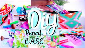 diy supplies pencil pouch locker organizer youtube