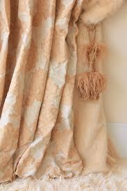 Orange And Beige Curtains Luxury Interior Design Lidia Bersani Home Fashion